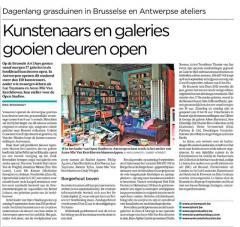 Kunstenaars en galeries gooien deuren open